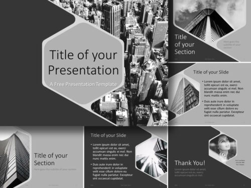 Free Hexagon Template for PowerPoint and Google Slides