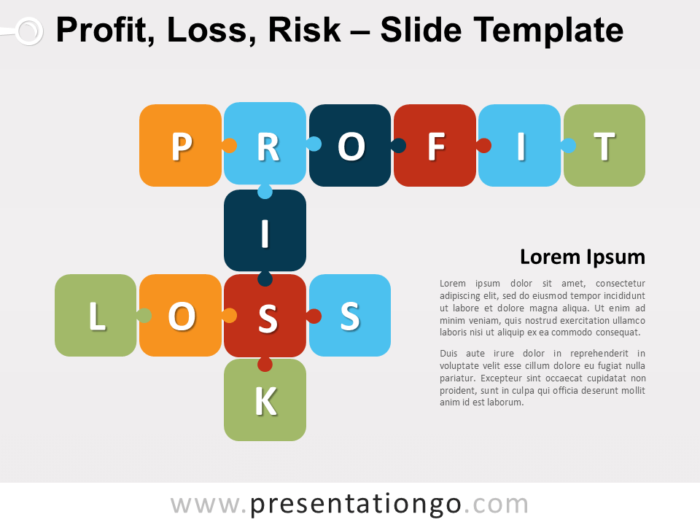 Free Profit, Loss, and Risk for PowerPoint