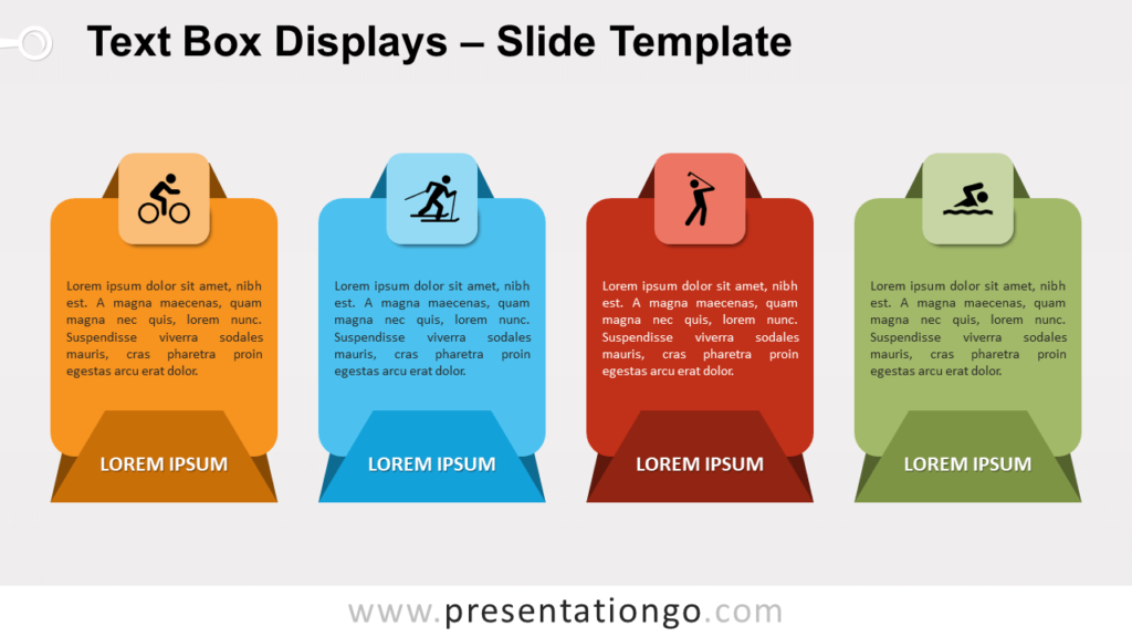 Free Text Box Displays for PowerPoint and Google Slides