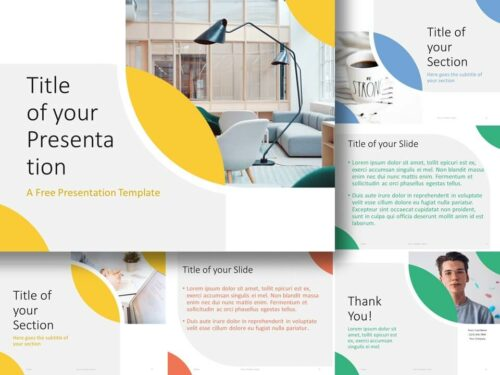 Free Lens Template for PowerPoint and Google Slides