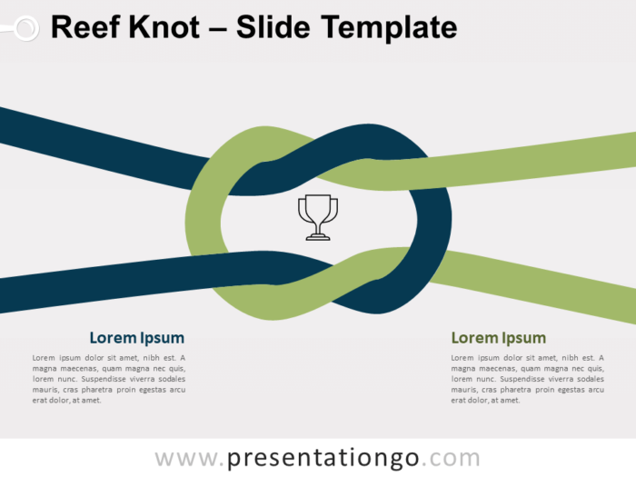Free Reef Knot for PowerPoint