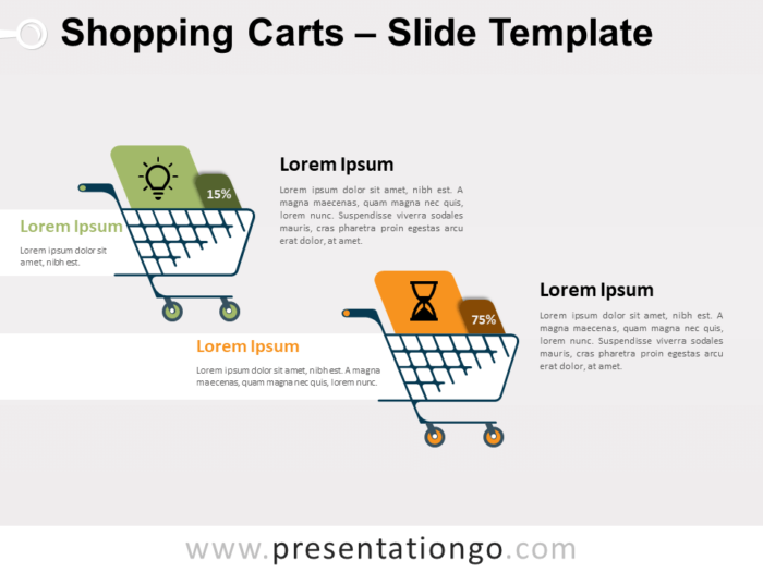 Free Shopping Carts for PowerPoint