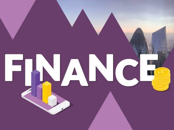Free FINANCE Template for Google Slides - Cover Slide