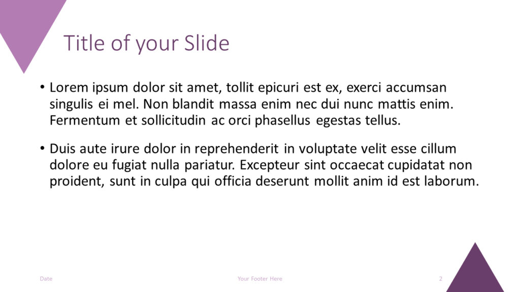 Free FINANCE Template for Google Slides – Title and Content Slide (Variant 1)