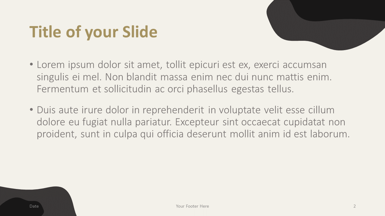 Free Horses Template for Google Slides – Title and Content Slide (Variant 1)