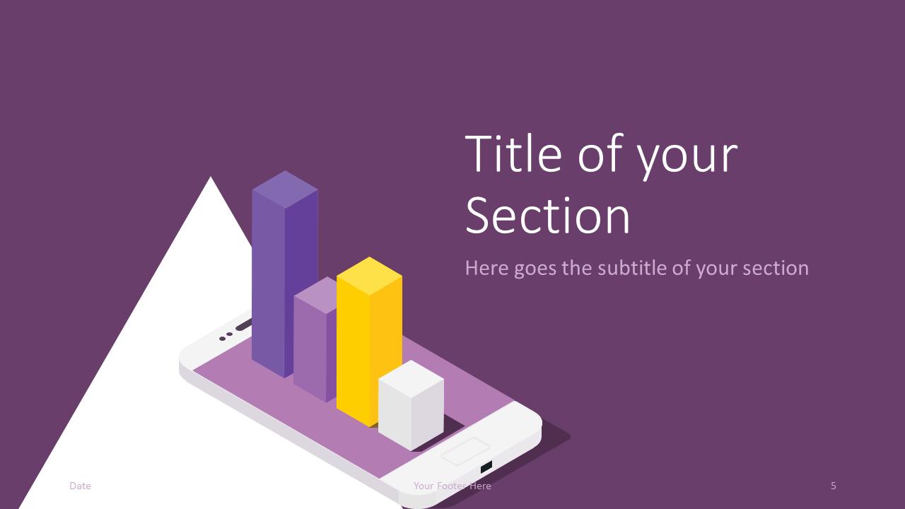 Free FINANCE Template for Google Slides – Section Slide (Variant 2)