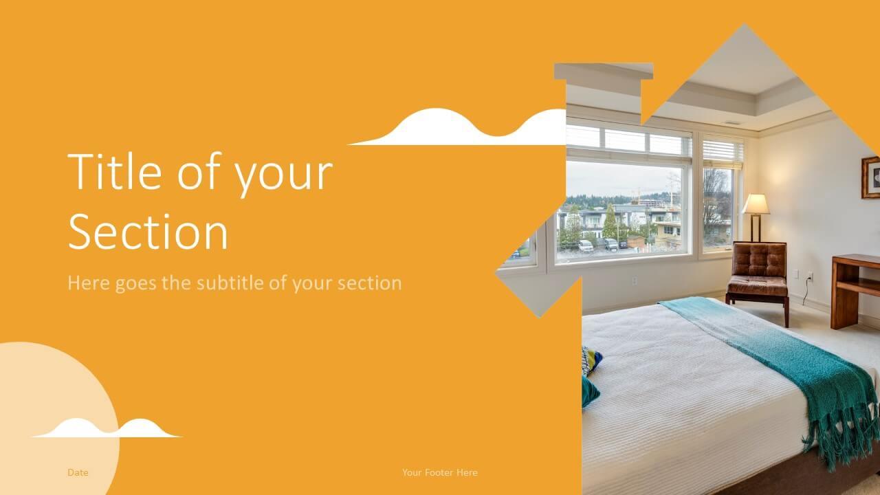 Free REALTOR Template for Google Slides – Section Slide (Variant 2)