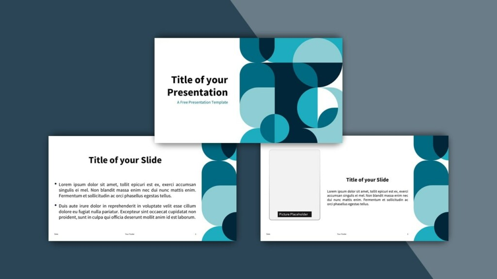 Free Abstract Geometry Google Slides Theme and PowerPoint Template