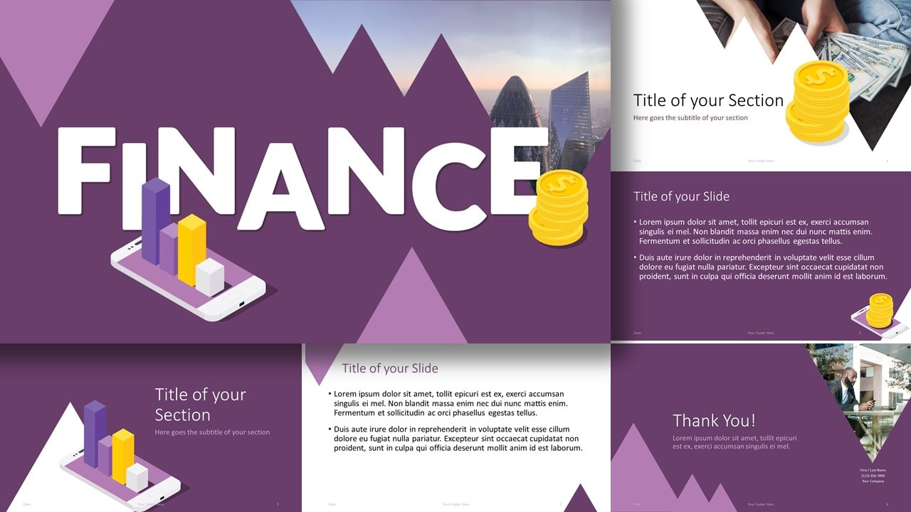 Free FINANCE Template for Google Slides and PowerPoint