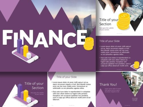 Free FINANCE Template for PowerPoint and Google Slides