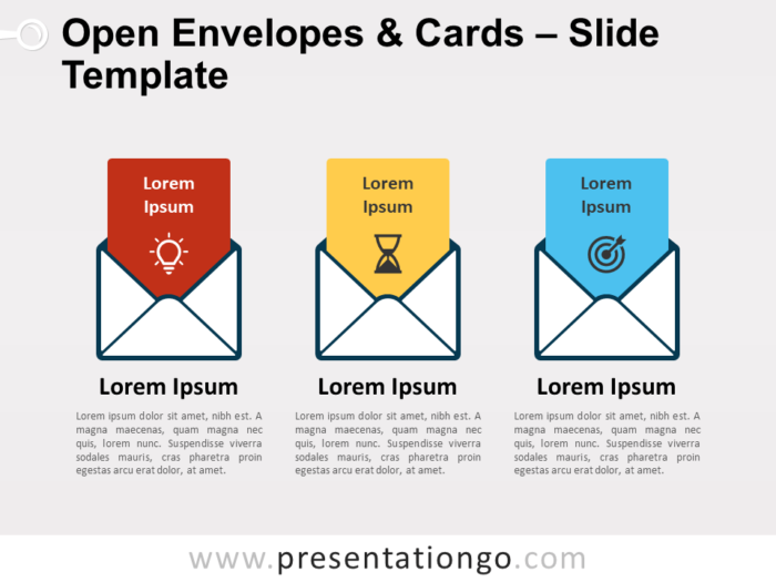 Free Open Envelopes & Cards for PowerPoint