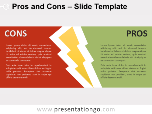 Free Pros and Cons for PowerPoint