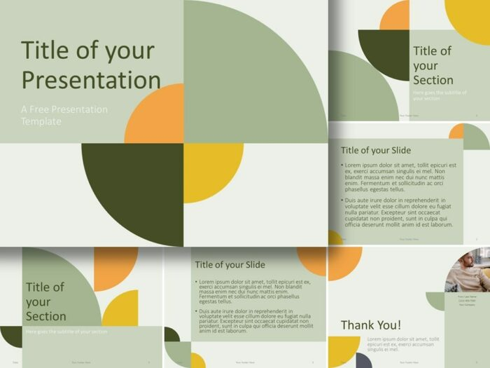 Free Quadrants Template for PowerPoint and Google Slides