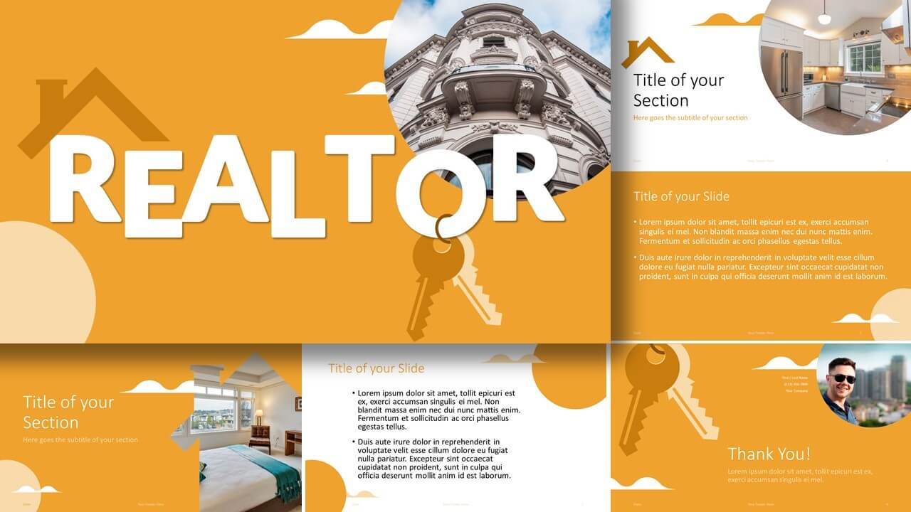 Free REALTOR Template for Google Slides and PowerPoint