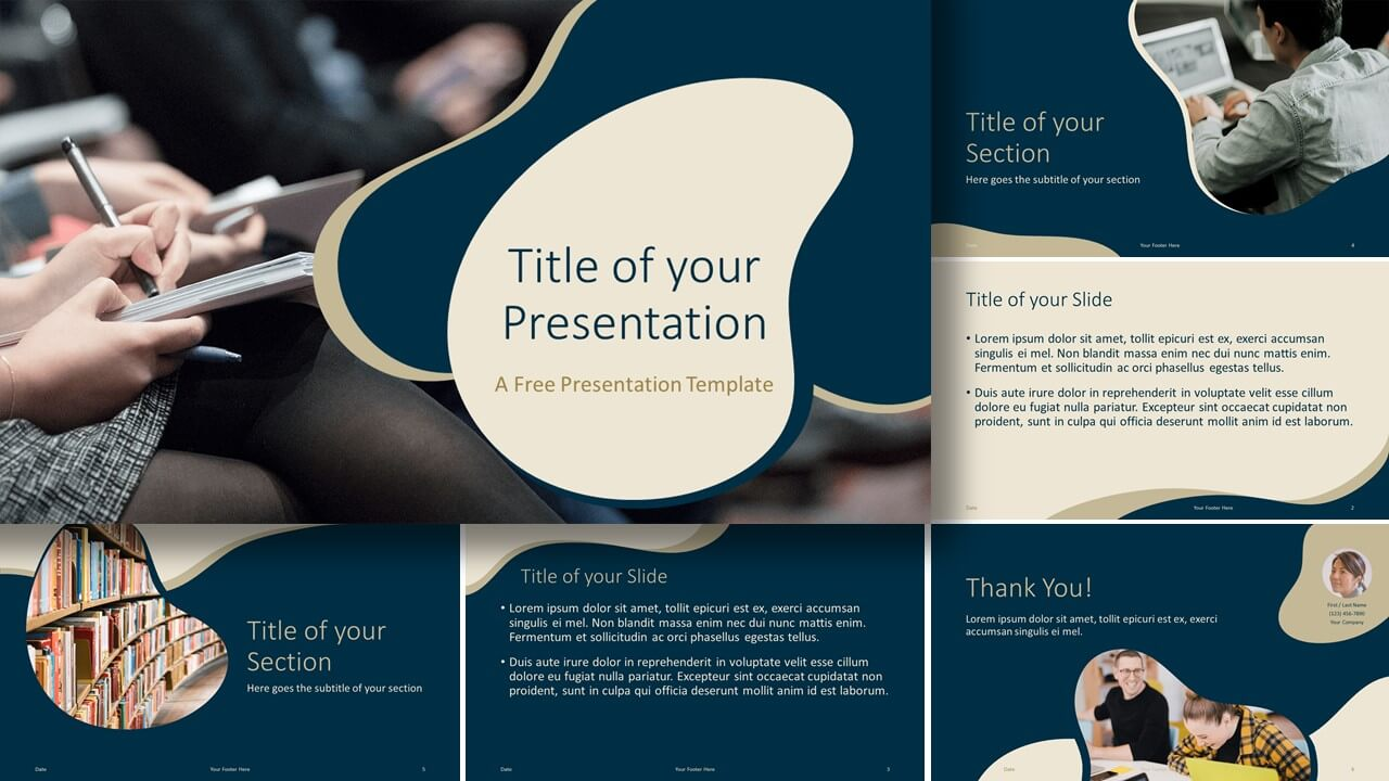 Free UNIVERSITY Template for Google Slides and PowerPoint