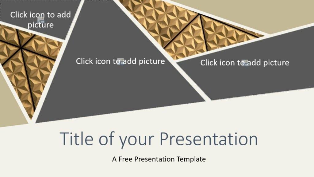 Free Deluxe Template for Google Slides - Cover Slide