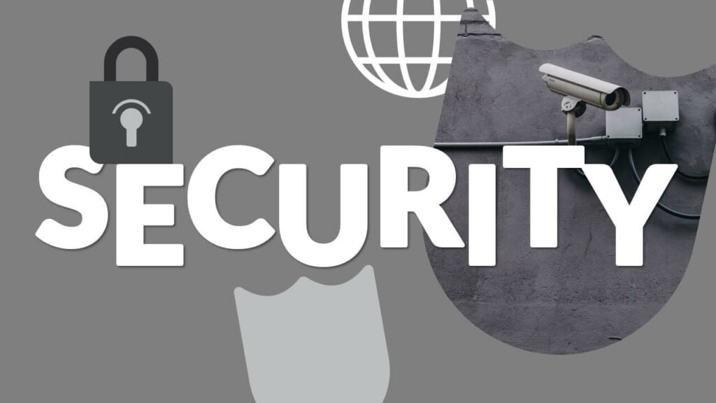 Free SECURITY Template for Google Slides - Cover Slide