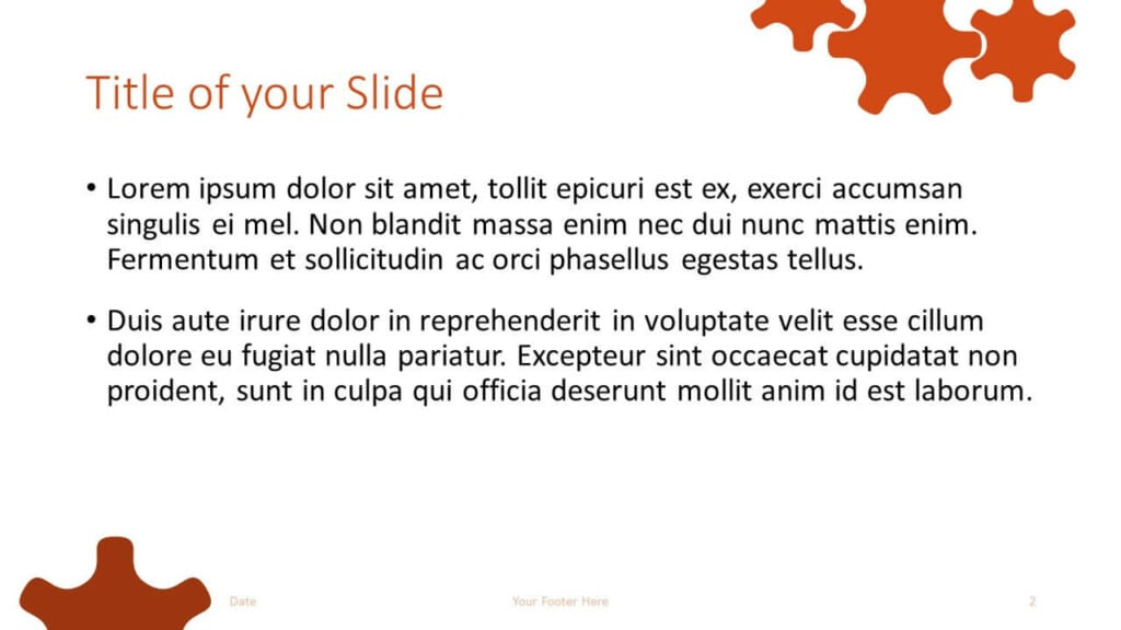 Free ENGINEER Template for Google Slides – Title and Content Slide (Variant 1)