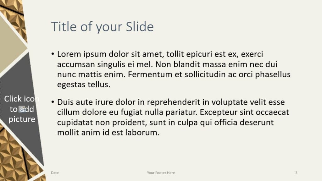 Free Deluxe Template for Google Slides – Title and Content Slide (Variant 2)