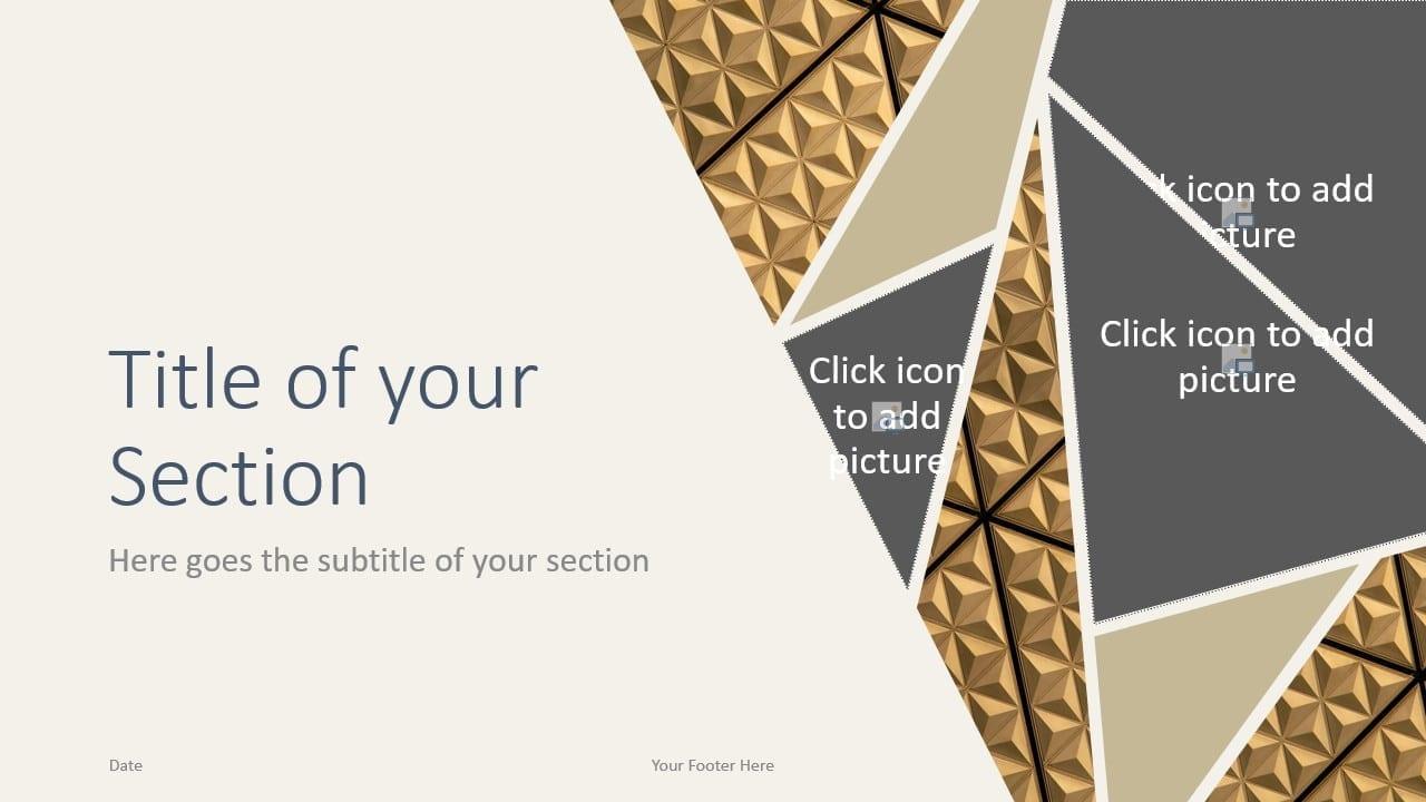 Free Deluxe Template for Google Slides – Section Slide (Variant 2)