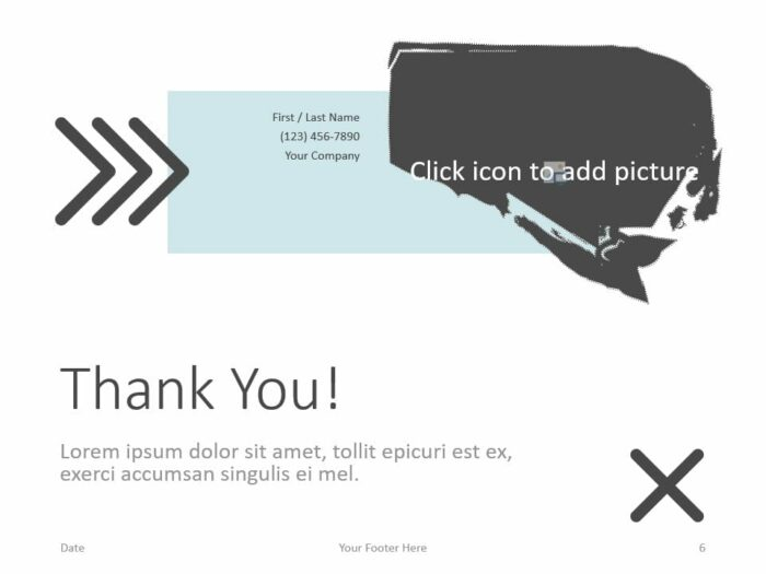 Free Concert Template for PowerPoint - Closing / Thank you