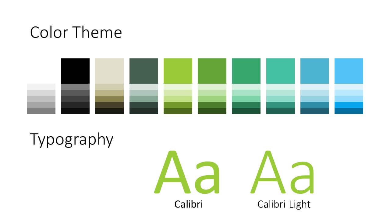 Free ECOLOGY Template for Google Slides – Colors and Fonts