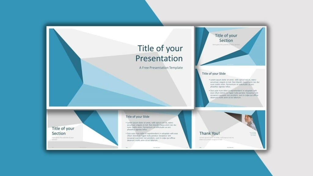 Blue Template for your PowerPoint Presentation