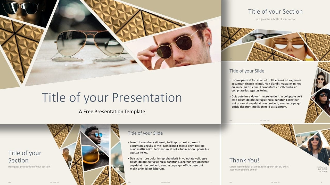Free Deluxe Template for Google Slides and PowerPoint