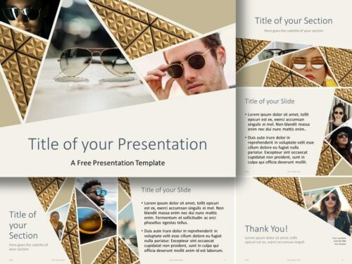 Free Deluxe Template for PowerPoint and Google Slides