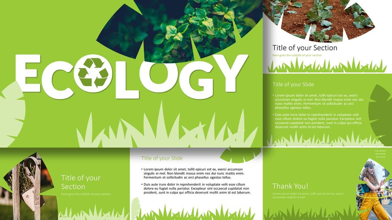 Free ECOLOGY Template for Google Slides and PowerPoint