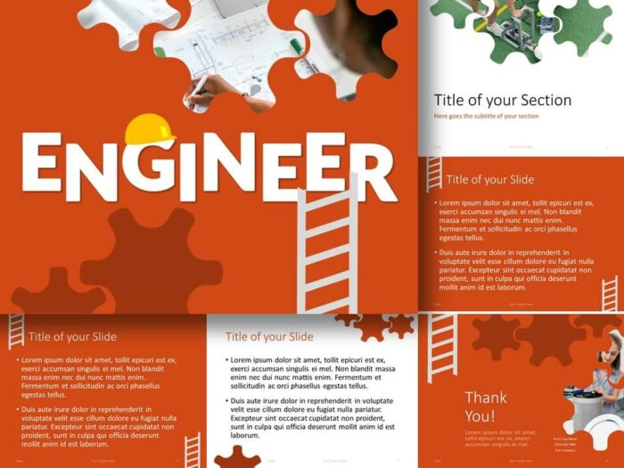 Free ENGINEER Template for PowerPoint and Google Slides