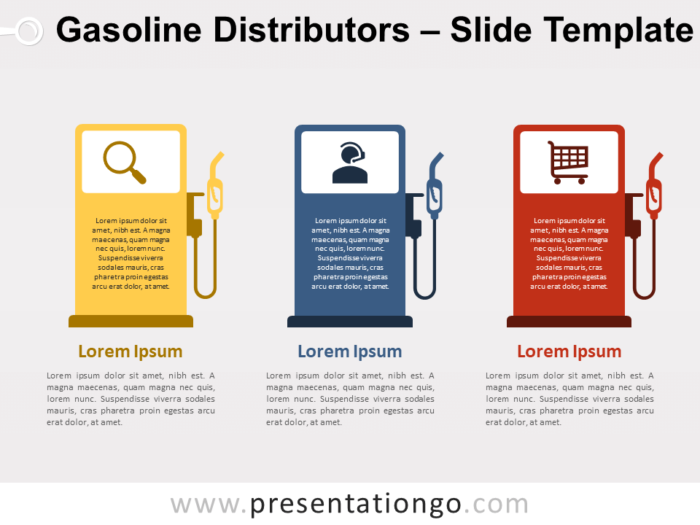 Free Gasoline Distributors Template for PowerPoint