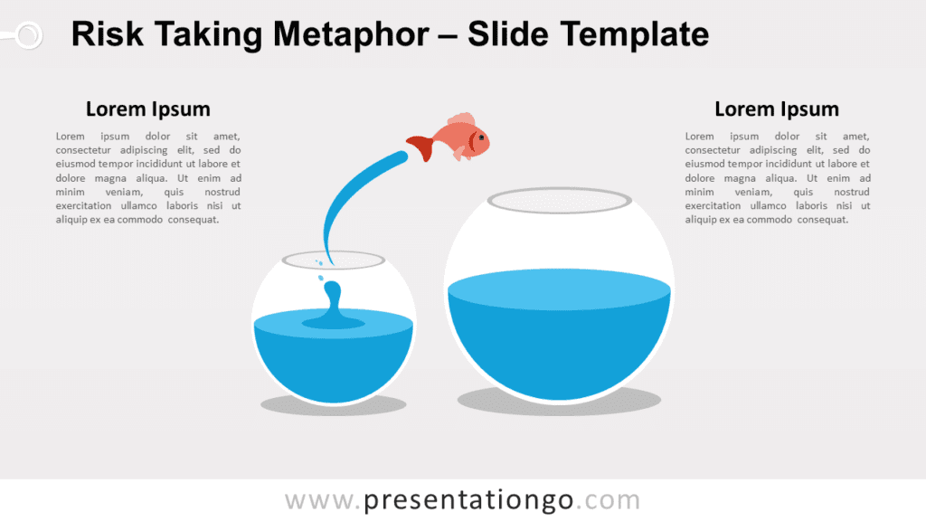 Free Risk Taking Metaphor for PowerPoint and Google Slides