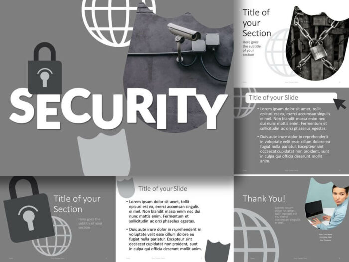 Free SECURITY Template for PowerPoint and Google Slides