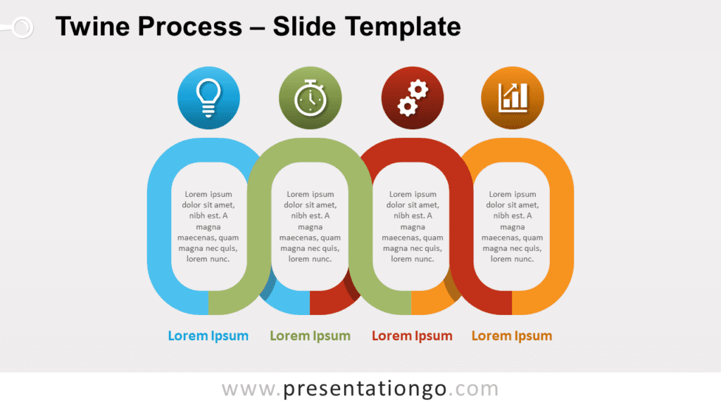 Free Twine Process for PowerPoint and Google Slides
