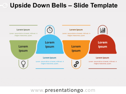 Free Upside Down Bells for PowerPoint