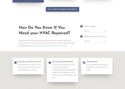 Climate Pro Website Design & Development