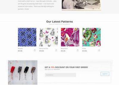 KimKaps Website redesign and development