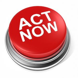 clear call to action button
