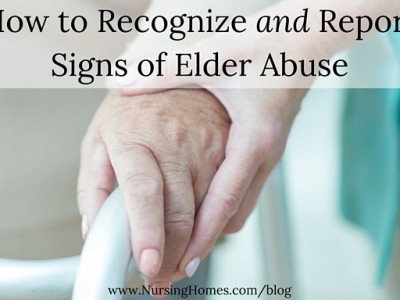 How to Recognize and Report Signs of Elder Abuse
