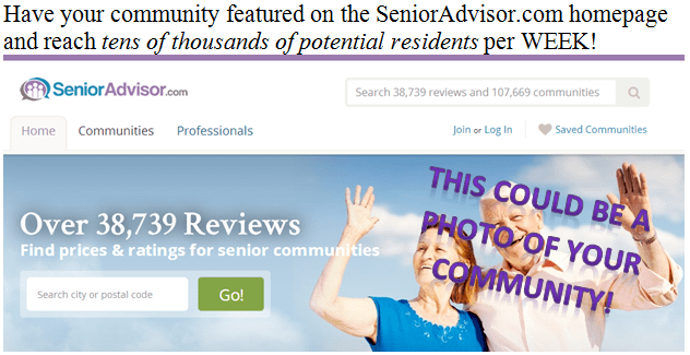 Submit a photo on the SeniorAdvisor. com Facebook contest!