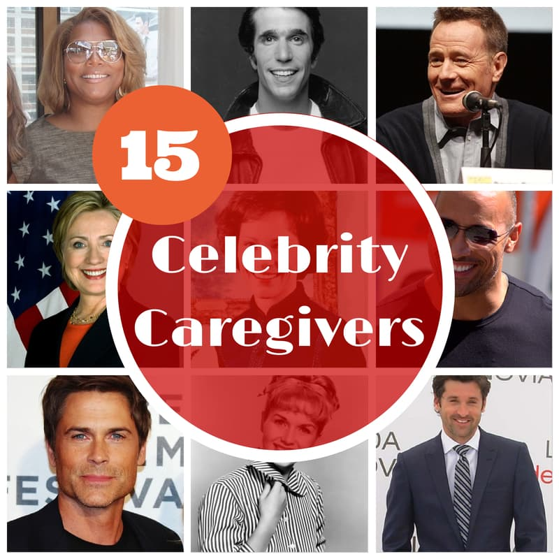 15 Famous Son and Daughter Celebrity Caregivers