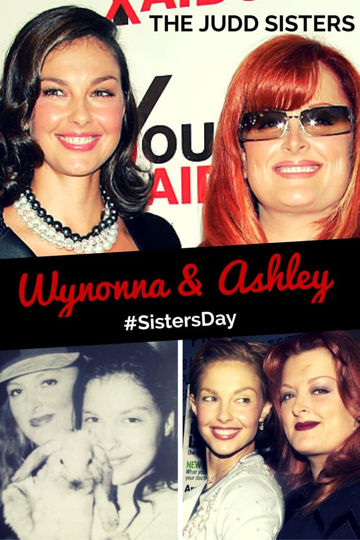 Wynonna & Ashley Judd Sisters
