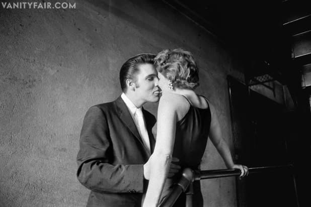 """Elvis Presley """"The Kiss"""" Photo by Alfred Wertheimer"""