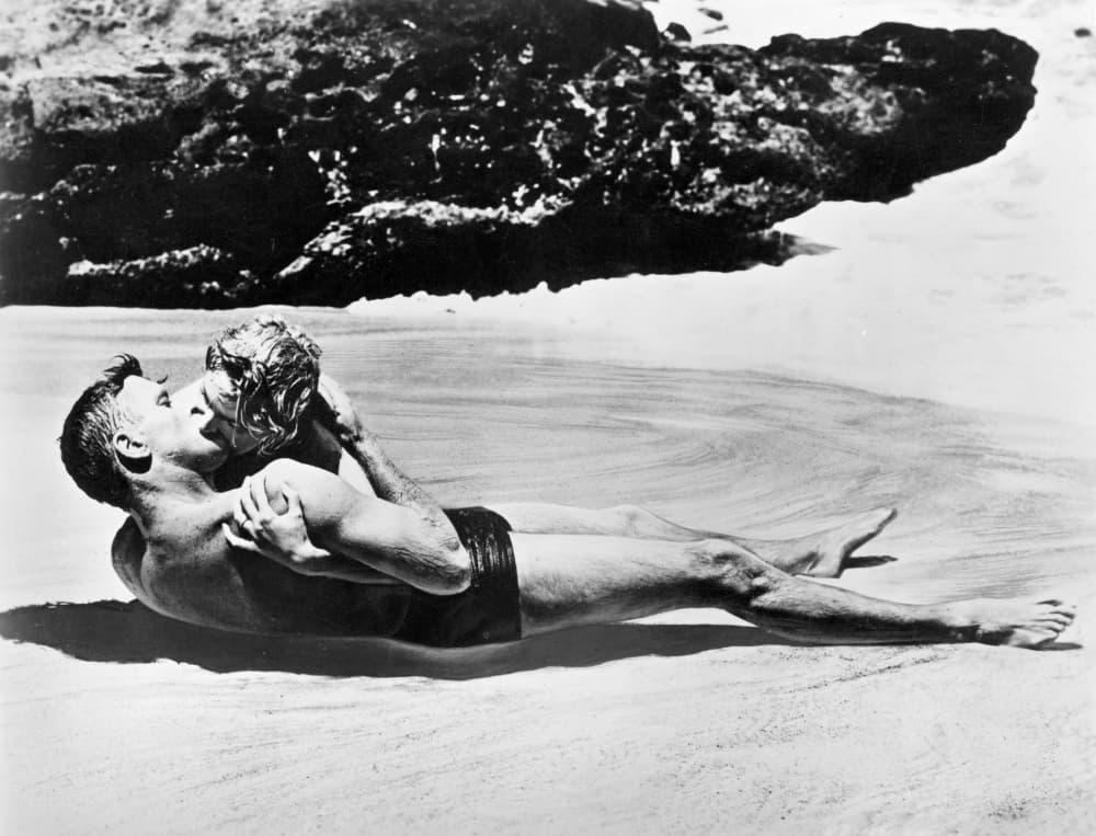 From Here To Eternity Burt Lancaster Deborah Kerr Kissing Beach Scene