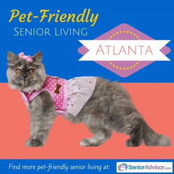 Pet-Friendly Senior Living in Atlanta