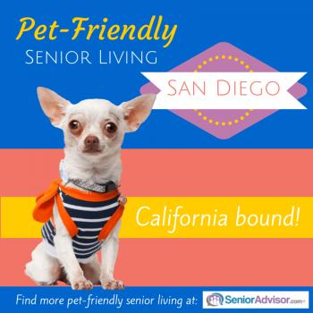 Pet-Friendly Senior Living in San Diego CA