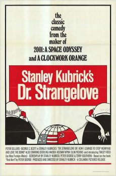 Dr Strangelove Movie Poster