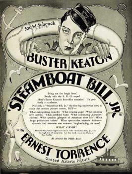 Steamboat Bill Jr Movie Poster