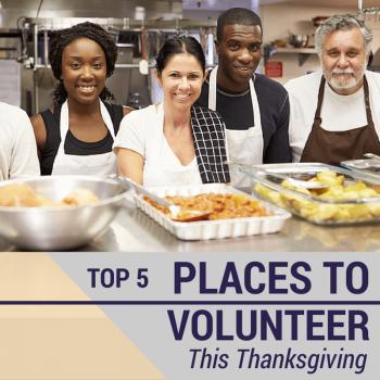 Volunteer on Thanksgiving